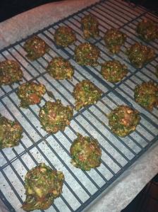 Basil Kale Meatballs